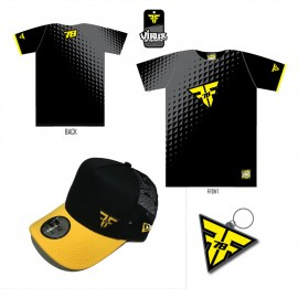 PACK Freddy Foray Homme Casquette Jaune